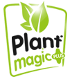 Plant Magic horticulture nutrients promoting healthy plant growth logo